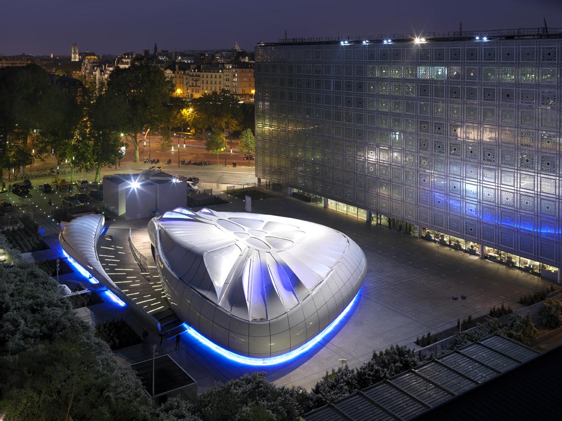 Chanel Mobile Art Pavilion by Zaha Hadid